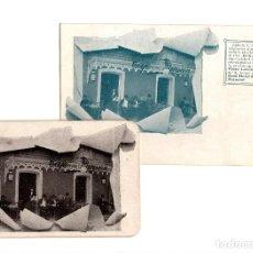 Postales: CÁDIZ.- CAFÉ PARISIÉN. POSTAL Y PROYECTO FESTEJOS PARA S.M. REY EN CÁDIZ. CAFÉ MOKA.. Lote 189159157
