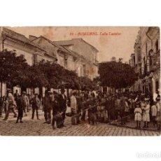 Postales: ALGECIRAS.(CÁDIZ).- CALLE CASTELAR.. Lote 189168876