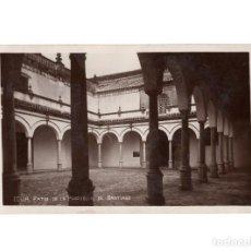 Postales: ECIJA.(SEVILLA).- PATIO DE LA PARROQUIA DE SANTIAGO.. Lote 189182507