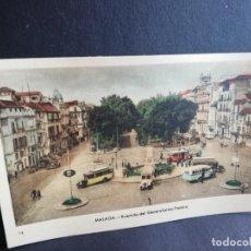 Postais: TARJETA POSTAL DE MALAGA. AVENIDA DEL GENERALISIMO FRANCO. EDICIONES ARRIBAS.. Lote 189479012