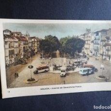 Postais: TARJETA POSTAL DE MALAGA. AVENIDA DEL GENERALISIMO FRANCO. EDICIONES ARRIBAS.. Lote 189479090