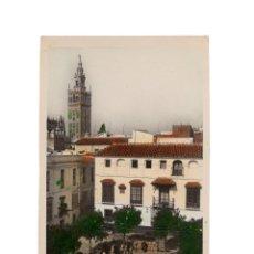 Postales: SEVILLA.- PLAZA DOÑA ELVIRA.. Lote 189681260