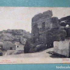 Postales: POSTAL MALAGA ,LAS RUINAS, 1905, CIRCULADA. Lote 189690980