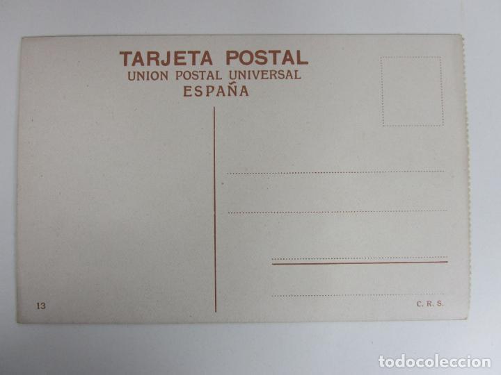 Postales: Postal Sevilla - Exposición Ibero-Americana, Estanque Central y Palacio de Bellas Artes - C.R.S. - Foto 2 - 189806985
