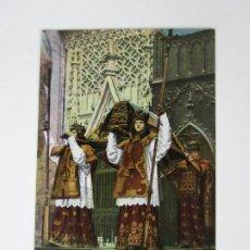 Postales: TARJETA POSTAL SEVILLA - CATEDRAL, TUMBA DE CRISTOBAL COLON - C.R.S. Lote 189807193