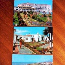 Postales: MARBELLA. HOTEL PINOMAR. MÁLAGA. 3 POSTALES. SIN CIRCULAR.. Lote 190577171