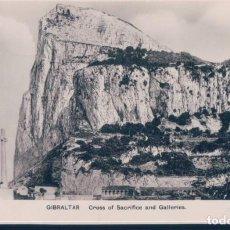 Postales: POSTAL GIBRALTAR - CROSS OF SACRIFICE AND GALLERIES - SAGARELLA. Lote 190695906