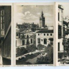 Postales: LOTE 8 POSTALES DE SEVILLA EN ACORDEÓN, . ED. ARRIBAS, CALIDAD FOTOGRÁFICA BRILLO. Lote 190904608