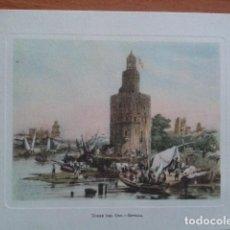 Postales: POSTAL NAVIDEÑA: TORRE DEL ORO - SEVILLA. Lote 191033060