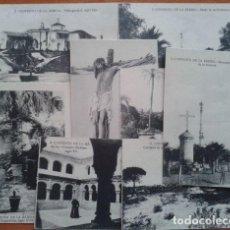 Postales: CONVENTO DE LA RÁBIDA . NUEVE POSTALES. Lote 191034342