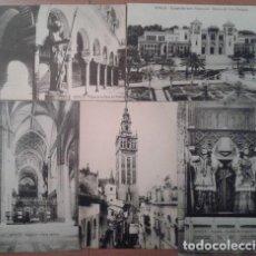 Postales: SEVILLA : CINCO POSTALES ANTIGUAS. Lote 191057261