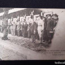 Postales: ACADEMIA DE INFANTERIA,CURSO 1913-14 (GABINETE FOTOGRAFICO DE CARMONA). Lote 191595707