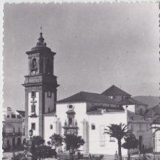 Postales: ALGECIRAS (CADIZ) - IGLESIA MAYOR Y PLAZA ALTA. Lote 191662641
