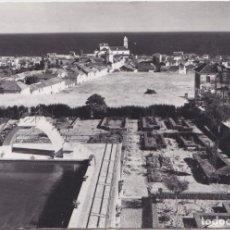 Postales: MALAGA VISTA PARCIAL DE LA CIUDAD DESDE EL ALBERGUE SAN FRANCISCO. Lote 191664012