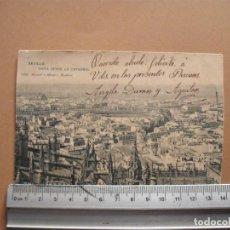 Postales: SEVILLA ,VISTA DESE LA CATEDRAL. HAUSER Y MENET. Lote 191671821