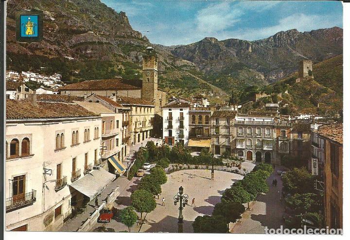 POSTAL CAZORLA (JAÉN) - PLAZA DEL GENERALISIMO - SUBIRATS 1965 (Postales - España - Andalucia Moderna (desde 1.940))