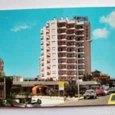 Postales: POSTAL 30 AGUADULCE ALMERÍA HOTEL SATÉLITE PARK CENTRO COMERCIAL AÑO 1988 ED ARRIBAS. Lote 191964510