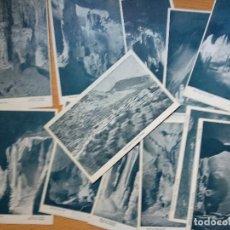 Postales: BENAOJAN (MALAGA). CUEVA DE LA PILETA. LOTE DE 12 POSTALES.. Lote 192079931