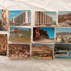 Postais: LOTE DE 11 ANTIGUAS POSTALES DE GRANADA , MOTRIL , LANJARON , SALOBREÑA , ALMUÑÉCAR , Y LOJA. Lote 193019941