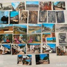 Postales: POSTALES DE RINCON DE LA VICTORIA , NERJA , VELEZ , TEBA , ETC , MÁLAGA . 29 UNIDADES - N. 70. Lote 193164900