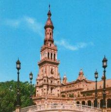 Postais: SEVILLA -DETALLE DE LA PLAZA DE ESPAÑA- (COLECCIÓN TRIANA Nº 4007) SIN CIRCULAR / P-6516. Lote 193712537