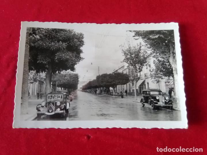W.- 4.- POSTAL FOTOGRAFICA DE -- ALMERIA -- AVENIDA DEL GENERALISIMO , EDI. ENRICO , SIN CIRCULAR (Postales - España - Andalucía Antigua (hasta 1939))