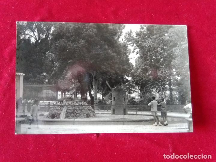 W.- 6 .- POSTAL FOTOGRAFICA DE -- LUCENA --( CORDOBA ) ESTANQUE DEL PASEO DE ROJAS , SIN CIRCULAR (Postales - España - Andalucía Antigua (hasta 1939))