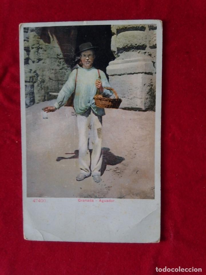 W.- 7.- POSTAL DE -- GRANADA -- AGUADOR -- TRASERA SIN DIVIDIR , SIN CIRCULAR (Postales - España - Andalucía Antigua (hasta 1939))