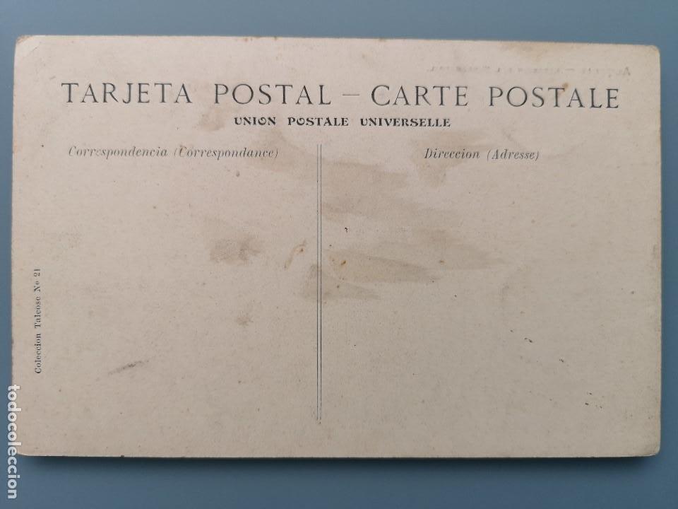 Postales: POSTAL ALMERIA Nº 21 ESTACION DEL FERROCARRIL TREN COLECCION TALCOSE ANDALUCIA PERFECTA CONSERVACION - Foto 2 - 194160651