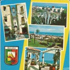 Postales: [POSTAL] VARIOS ASPECTOS. COSTA DEL SOL. MÁLAGA (SIN CIRCULAR). Lote 194174303