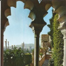 Postales: [POSTAL] INTERIOR DE LA ALCAZABA. MÁLAGA (SIN CIRCULAR). Lote 194174448