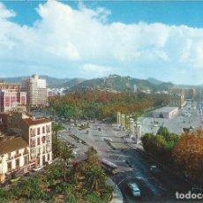 Postales: [POSTAL] PLAZA QUEIPO DE LLANO. MÁLAGA (SIN CIRCULAR). Lote 194174515