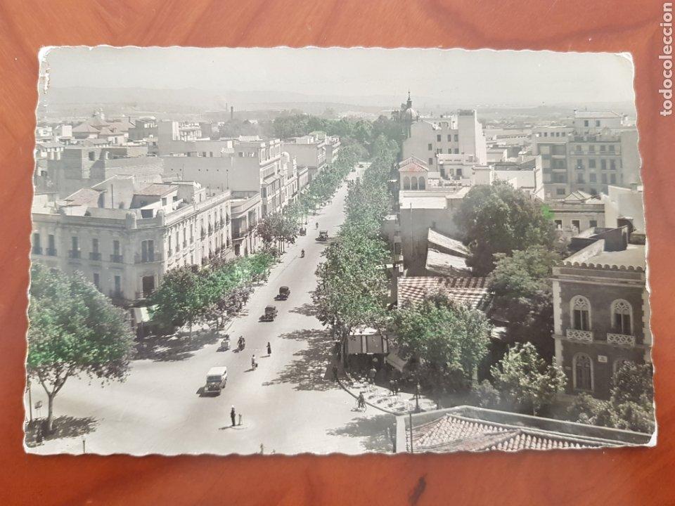 ANTIGUA POSTAL AVENIDA JOSE ANTONIO CORDOBA GARCIA GARRABELLA (Postales - España - Andalucía Antigua (hasta 1939))