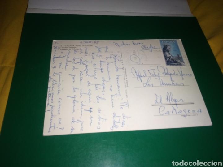 Postales: Antigua postal de Málaga. Pasaje de Chinitas. Años 60 - Foto 2 - 194236017