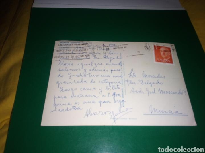 Postales: Antigua postal de Granada. Generalife. Años 60 - Foto 2 - 194236127