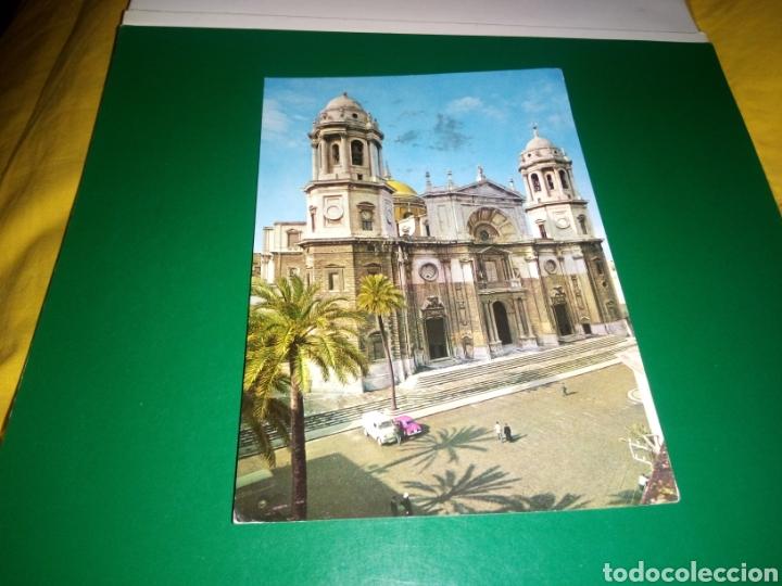 ANTIGUA POSTAL DE CÁDIZ. CATEDRAL. AÑOS 60 (Postales - España - Andalucia Moderna (desde 1.940))