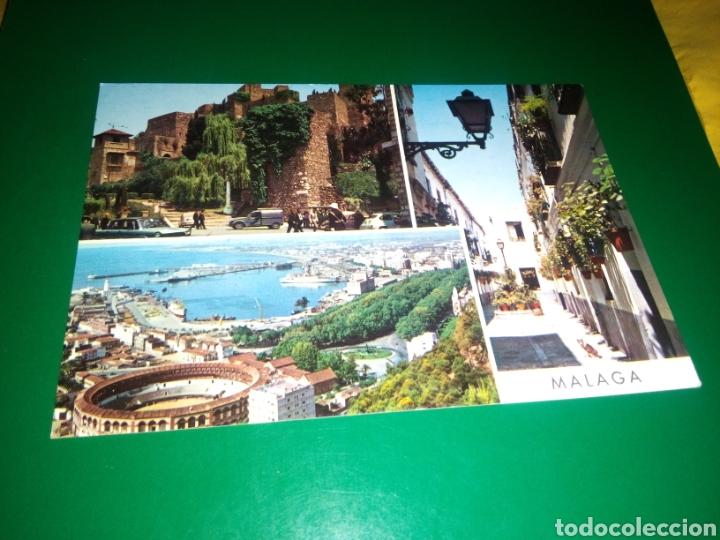 ANTIGUA POSTAL DE MÁLAGA. AÑOS 60 (Postales - España - Andalucia Moderna (desde 1.940))