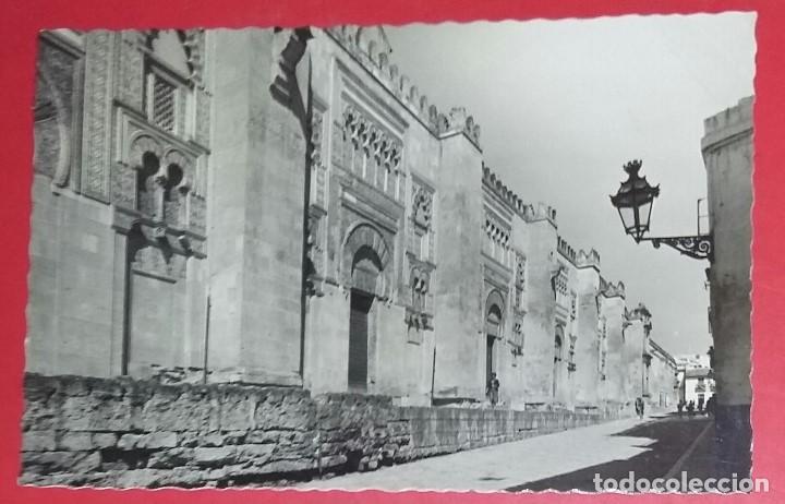 CORDOBA. MEZQUITA-CATEDRAL. FACHADA OESTE. N.º 50 GARCIA GARRABELLA Y COMPAÑIA. CIRCULADA 14-9-1960 (Postales - España - Andalucia Moderna (desde 1.940))