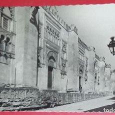 Postales: CORDOBA. MEZQUITA-CATEDRAL. FACHADA OESTE. N.º 50 GARCIA GARRABELLA Y COMPAÑIA. CIRCULADA 14-9-1960. Lote 194237020