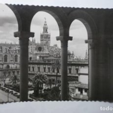 Postales: POSTAL SEVILLA - CATEDRAL ARCHIVO INDIAS CM -ESCRITA. Lote 194243378