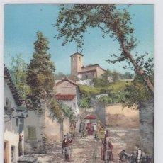 Postales: COSTUMBRES ANDALUZAS.LA MAJESTAD. COLECCIÓN TOMAS SANZ, SEVILLA.51 PURGER 1946.SIN CIRCULAR.. Lote 194293057