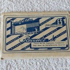 Postales: POSTALES, ACORDEON (10 VISTAS) SAN JUAN DE AZNALFARACHE (SEVILLA) - EDICIONES SICILIA. Lote 194293173