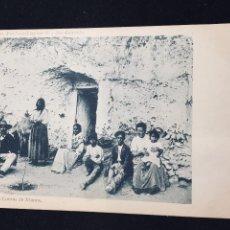 Postales: POSTAL GRANADA CUEVAS DE JITANOS GITANOS N 63 A LINARES NO INSCRITA NO CIRCULADA. Lote 194293338