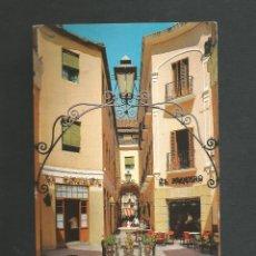 Postales: POSTAL CIRCULADA - MALAGA 911 - PASAJE DE CHINITAS - EDITA BEASCOA. Lote 194359922