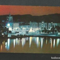 Postales: POSTAL CIRCULADA - MALAGA 1038 - PUERTO Y VISTA PARCIAL ATARDECER - EDITA BEASCOA. Lote 194359943