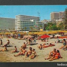Postales: POSTAL CIRCULADA - TORREMOLINOS 1947 - COSTA DEL SOL - MALAGA - EDITA BEASCOA. Lote 194360023