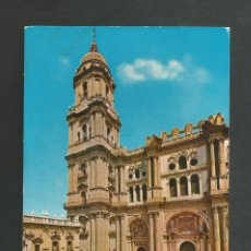 Postales: POSTAL CIRCULADA - MALAGA 1522 - FACHADA DE LA CATEDRAL - EDITA POSTALES COSTA DEL SOL. Lote 194360047