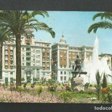 Postales: POSTAL SIN CIRCULAR - MALAGA 54 - FUENTE Y ACERA DE LA MARINA - EDITA GARCIA GARRABELLA. Lote 194360056