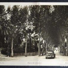 Postales: MALAGA, PASEO DE LIMONAR, POSTAL CIRCULADA CON SELLOS DEL AÑO 1943, VER COMENTARIOS. Lote 194510675