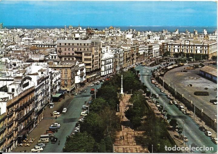 == C833 - POSTAL - CADIZ - AVENIDA RAMON DE CARRANZA (Postales - España - Andalucia Moderna (desde 1.940))